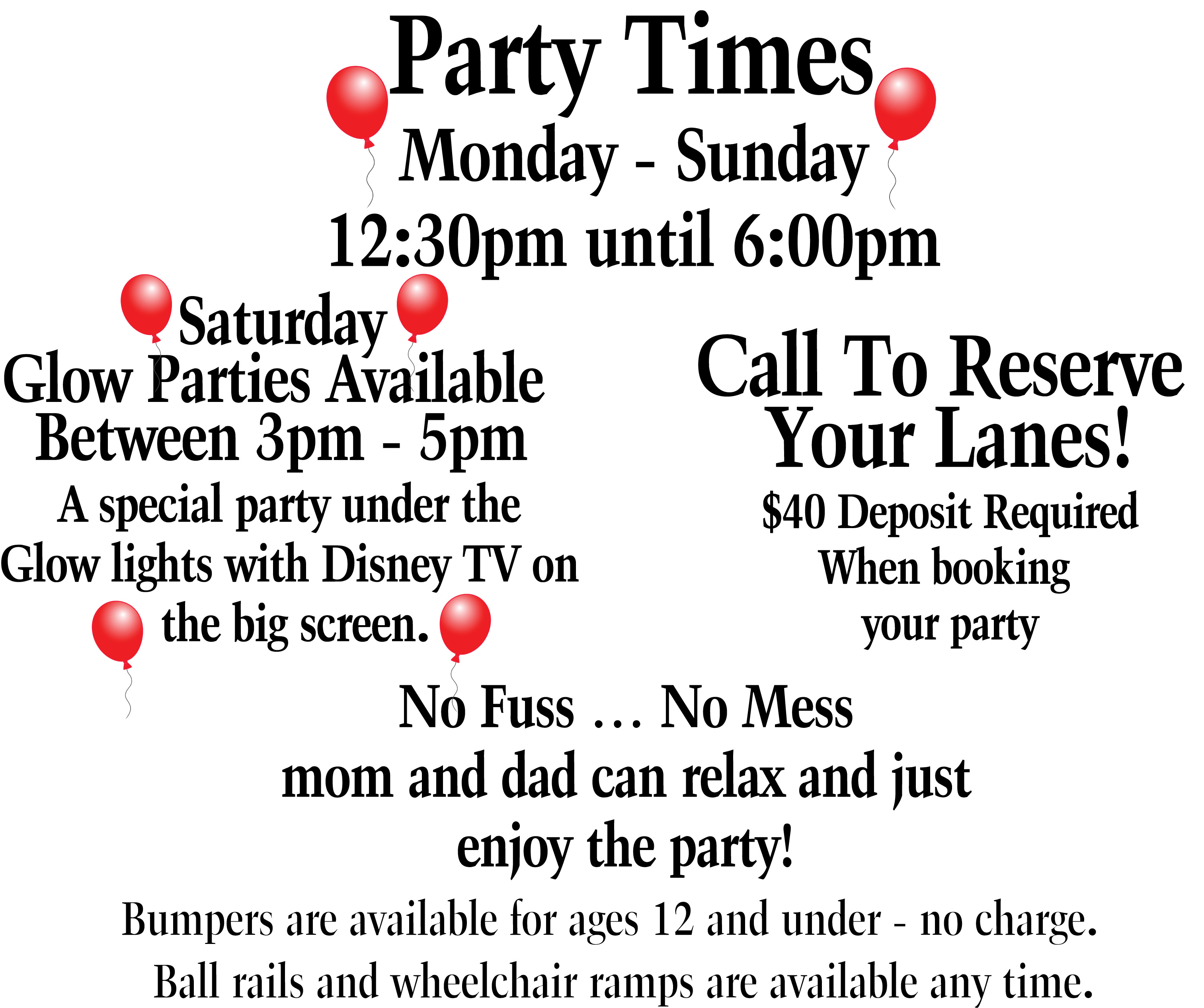 3 Party Times